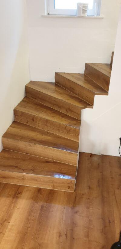 Abbildung Designbelag für Treppen